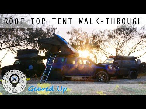 The Bush Company Alpha Roof Top Tent Walk-Through