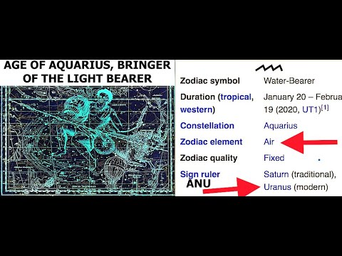 Age of Aquarius & Return of the Light Bearer, Lucifer, Lord of the Air, Anu