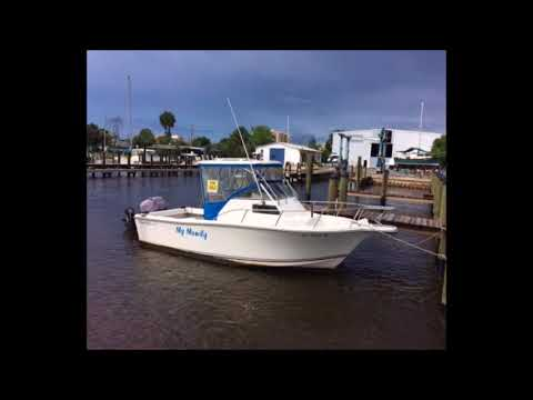 1997 Kencraft Challenger 220WA Fishing Boat For Sale In Ponce Inlet, FL. $19,500.