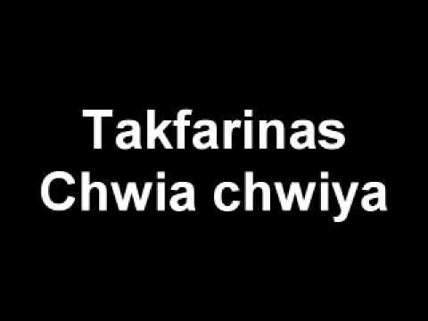 Takfarinas Chwiya Chwiya