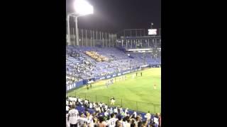 20130605 神宮 交流戦 ヤクルト対イーグルス ヤクルト側 試合終了後の1-...