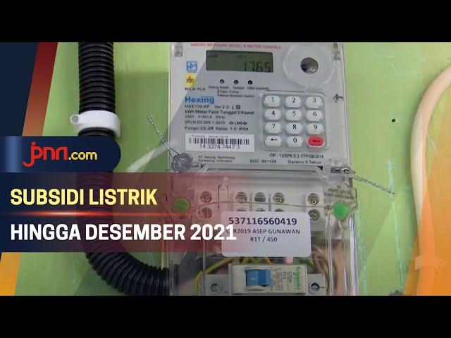 Subsidi Listrik Diperpanjang Hingga Desember 2021 - JPNN.com