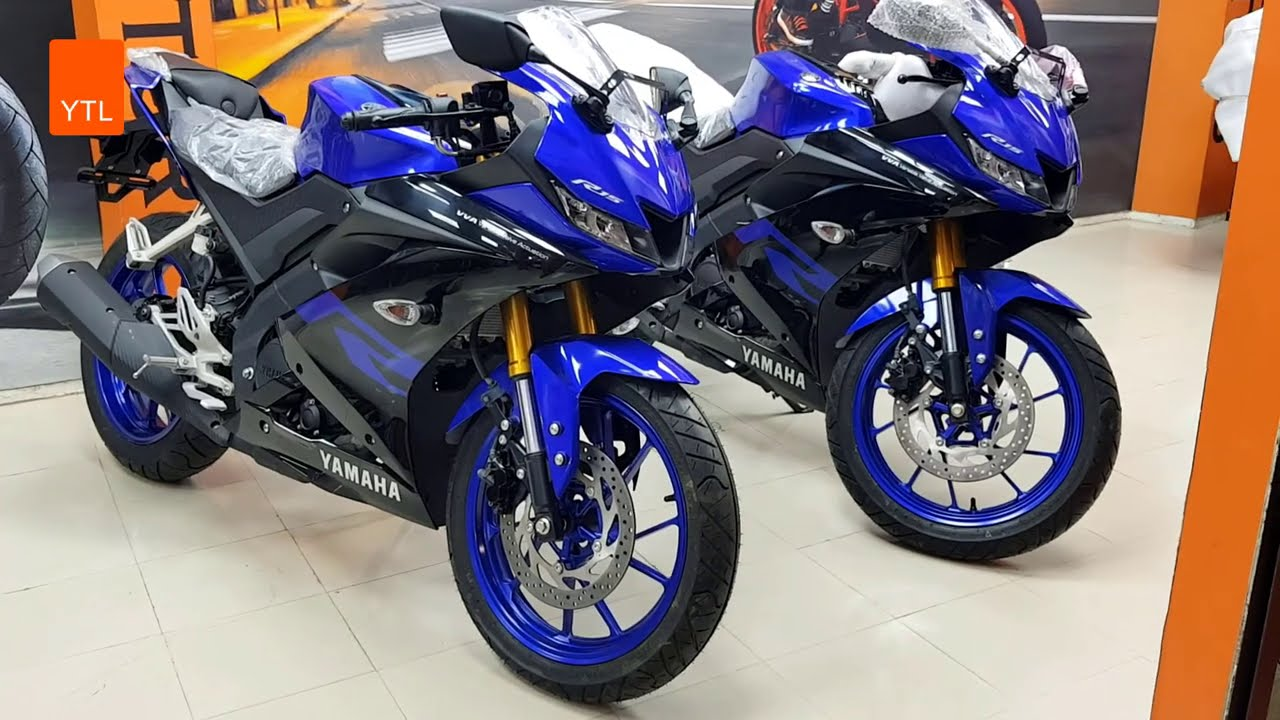 New Yamaha R15 Blue & Black | There is Nothing to do boss | update 2021