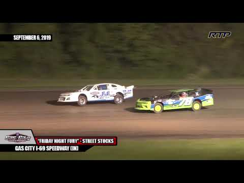 "2019 Gas City I-69 Speedway - ""Friday Night Fury"" - Street Stocks - (HIGHLIGHTS)"