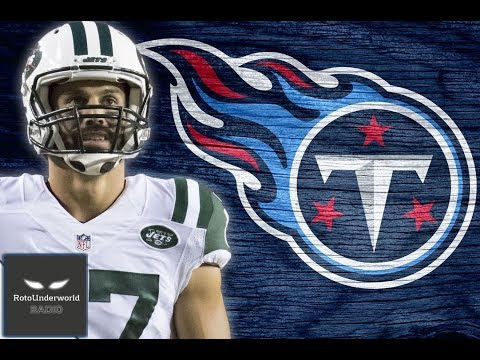 How does Eric Decker's arrival in Tennessee affect Mariota, Rishard Matthews, and Delanie Walker?