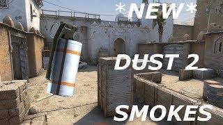 New Dust 2 Smokes [CS:GO Tutorial]