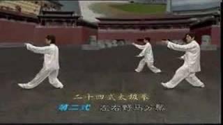 24式太极拳教程-2