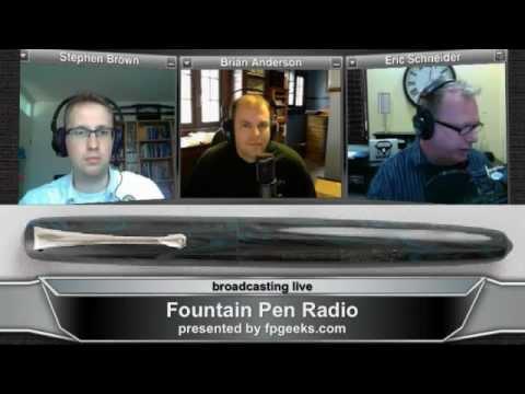 Fountain Pen Radio Episode 0016