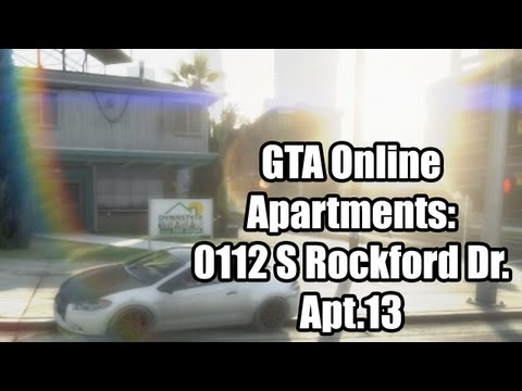 GTA Online Apartments: The Cheapest Apartment - 0112 S Rockford Dr, Apt 13 - $80k