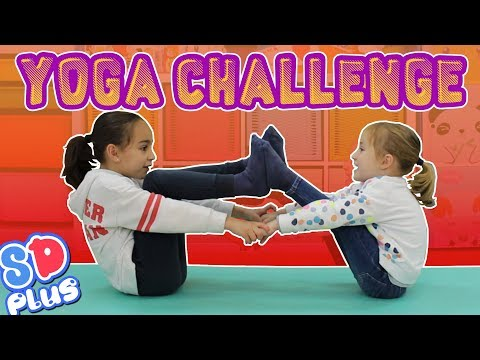 Yoga Challenge Andrea e Irene en SUPERDivertilandia!