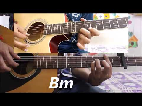 Mera Pyar Tera Pyar - Arijit Singh - Hindi Guitar Cover Lesson Chords Easy - Jalebi