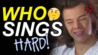 WHO IS SINGING? • High Pitched | One Direction