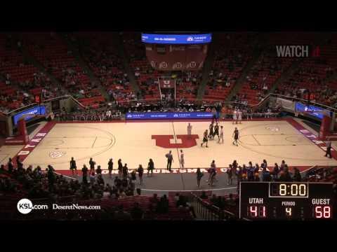 4A Boys Basketball  Timpview vs Highland Utah High School State Tournament 3 3 14 -2014