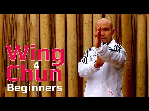 Wing Chun for beginners lesson 8: basic hand exercise/static straight punch