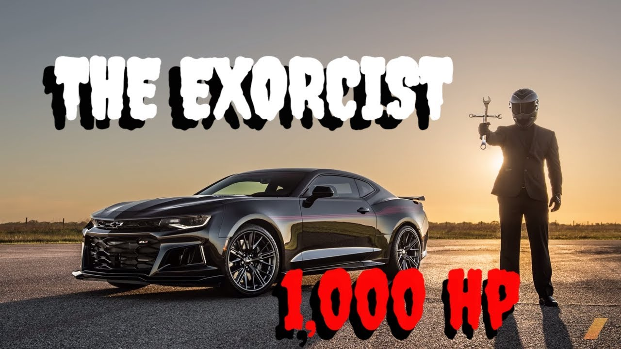 Hennessey Exorcist Camaro 1,000 hp and LOUD - YouTube