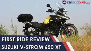 Suzuki V-Strom 650 XT First Ride Review | NDTV carandbike
