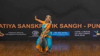 Naomi From Shashi Goyal Group (Bhopal) Performing During The ABSS, Pune Dance/drama Fest 2016