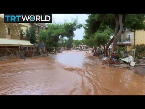 Download Youtube: Greece Floods: 15 dead in flash floods across Greece