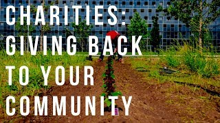 Charities : Giving Back To Your Community