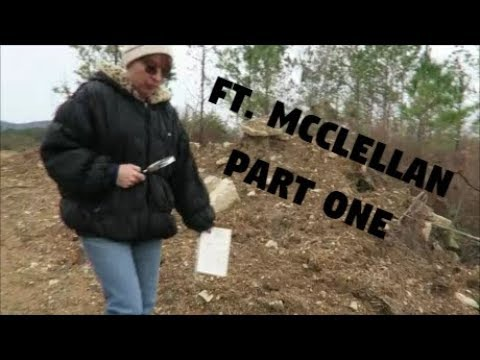 Exploring Ft. McCellan with a 1984 Map | Part One