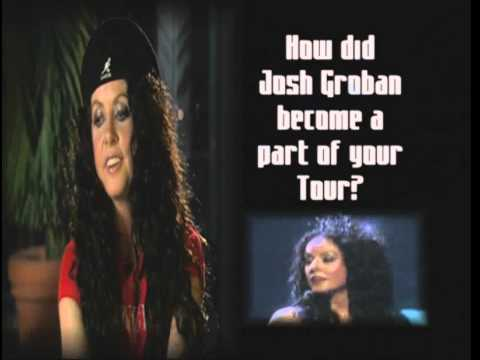 Fall, 2000- La Luna Tour Sarah Brightman Interview-- talks about Josh Groban