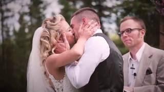 Bride Arrives in Airplane // Moffis Wedding // Alaska