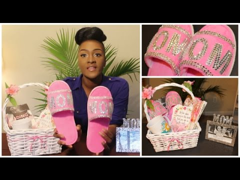 DIY Dollar Tree: BLING MOM SLIPPERS & PICTURE FRAME | MOTHER'S DAY GIFT BASKET || Chanelle Novosey