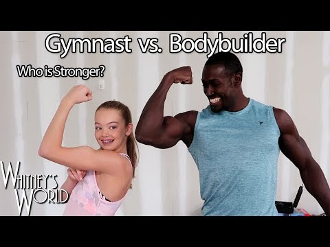 Gymnast vs Bodybuilder | Who is Stronger? | Whitney Bjerken