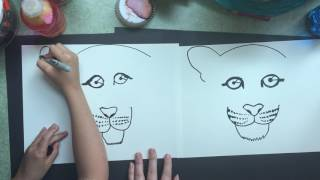 Tiger Draw Along