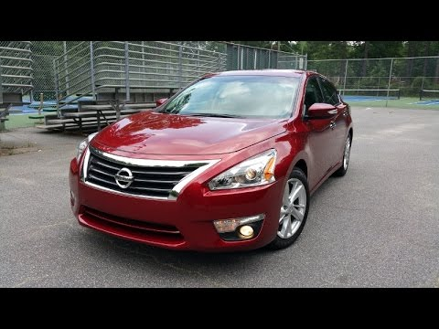 2015 nissan altima 2 5 sl review zero gravity feels great youtube. Black Bedroom Furniture Sets. Home Design Ideas