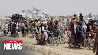 Taliban seize Afghan border crossing with Pakistan in major advance