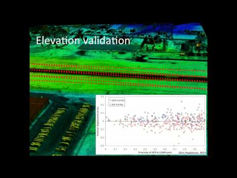Dr. Chris Hopkinson: LiDAR & Water Resources Applications, Data Processing, Part 4