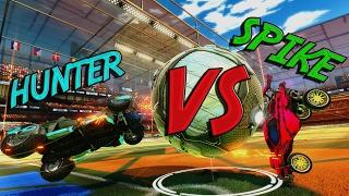 1v1 Hunter VS Spike | Rocket League