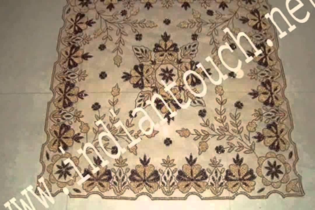 Superbe TABLE CLOTH ARABIC DESIGN INDIAN TOUCH