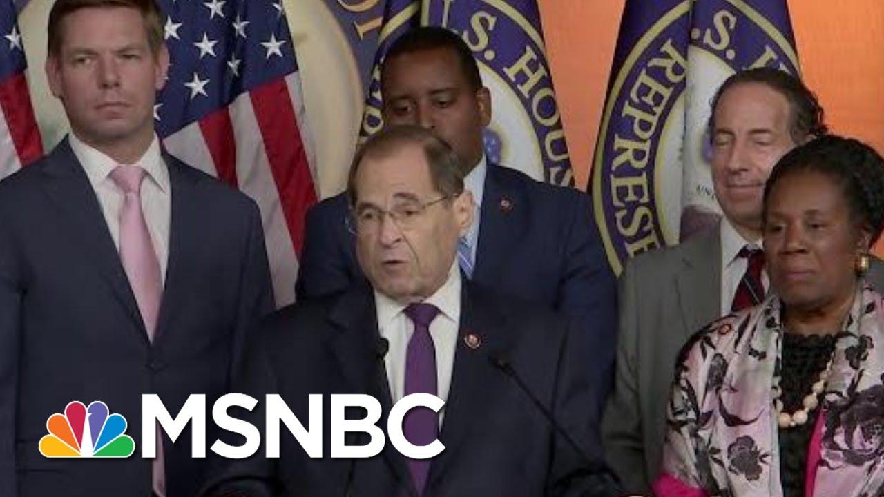 Context Of President Donald Trump Impeachment Improves Democrats' Legal Case | Rachel Maddow |