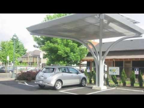EV4 Oregon Solar ETM Charging Stations