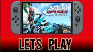 Aqua Moto Racing Utopia - rage/toughest track ! - Nintendo Switch