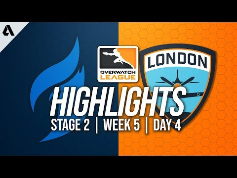 Dallas Fuel vs London Spitfire | Overwatch League Highlights OWL Stage 2 Week 5 Day 4
