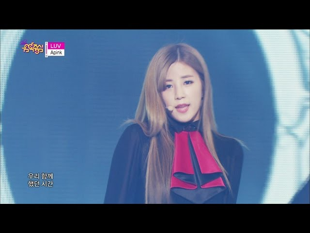 [HOT] Apink - LUV, 에이핑크 - 러브, Show Music core 20141129