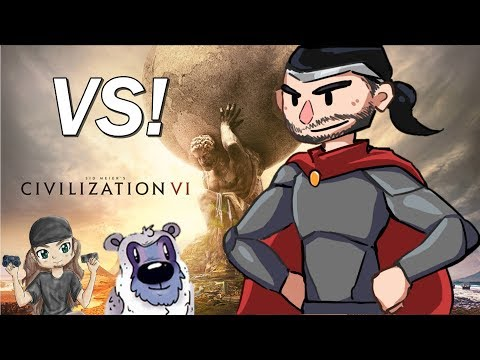 Civilization 6: Free For All Vs. Winter and Wretch, First Fight Episode 2