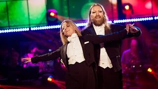 Rickard Söderberg och Maria Zimmerman – American smooth - Let's Dance (TV4)