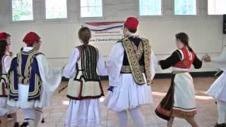 Syrtos Greek dance from Crete by Kyklonas Hellenic Dancers