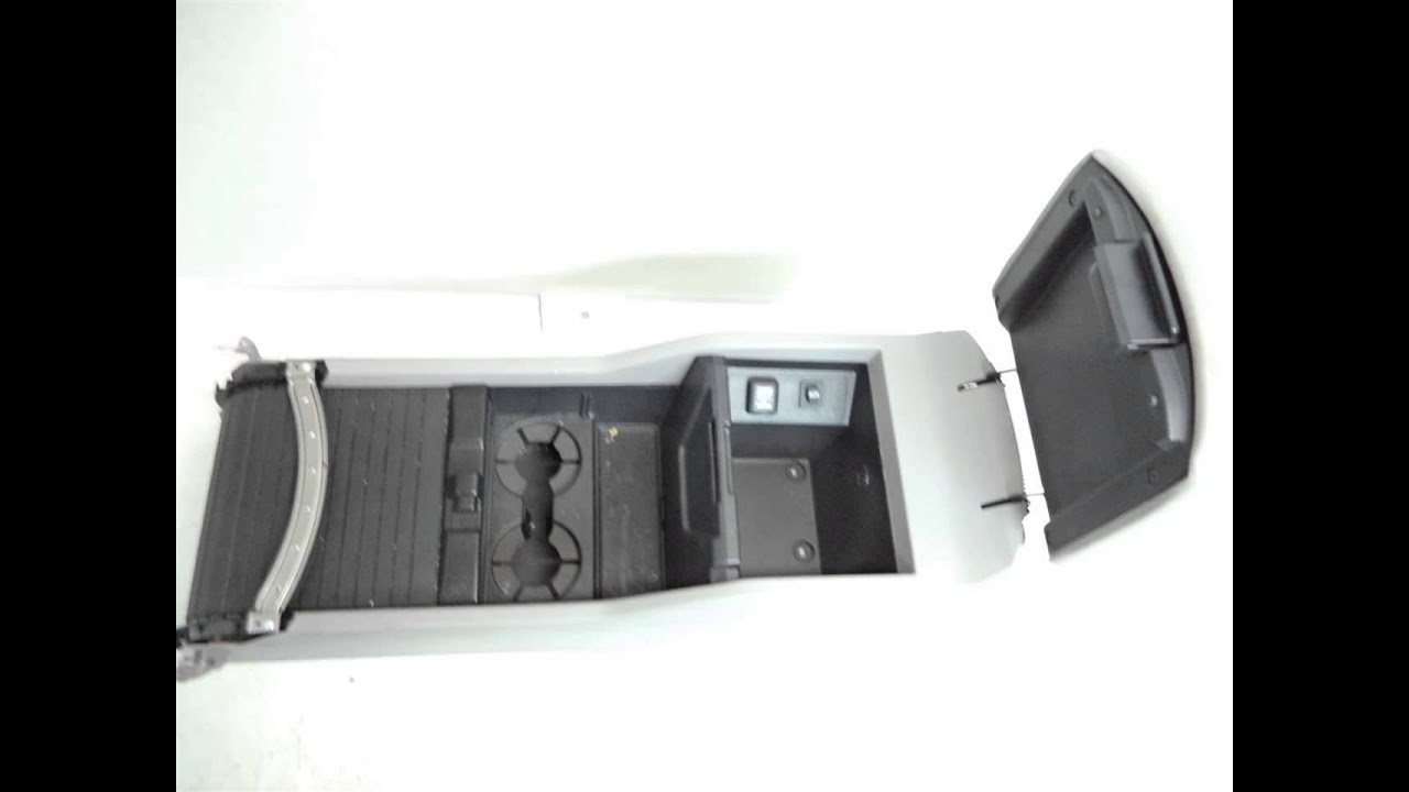 2012 Honda PILOT CENTER CONSOLE WITH ARM REST GRAY ...