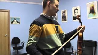 �������� ���� Попробовать мастеровый скрипичный смычок 1 ������