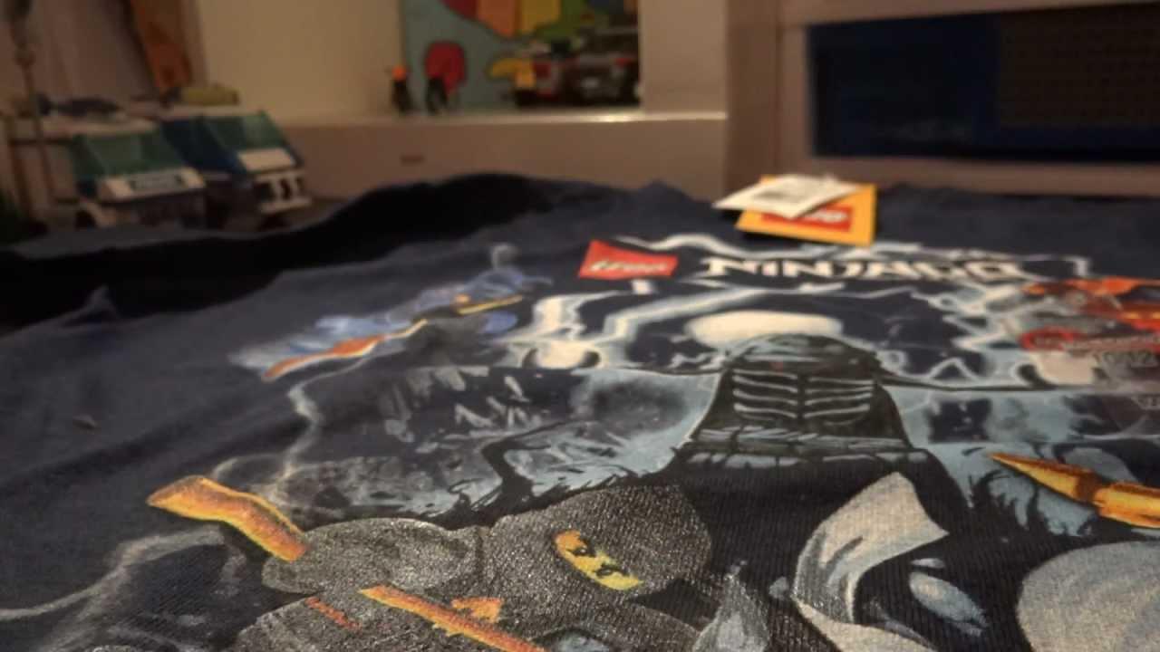 lego ninjago tshirt review  youtube