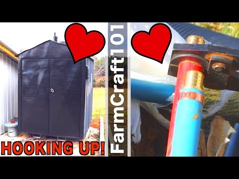 How to hook up... (a wood boiler).  FarmCraft101