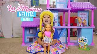 Nancy y Las 2 muñecas exploran un castillo de princesas S3:E111