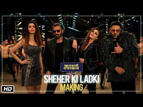 Download Lagu  Making Of Sheher Ki Ladki | Khandaani Shafakhana | Tanishk Bagchi, Badshah, Tulsi Kumar,  Diana P Mp3 Free