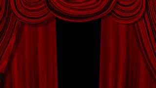 Classic Red Curtain Animation