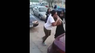 Pelea Callejera Entre Mujeres Negras Increible Street Fighter Women Black